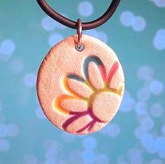 Cute Rainbow Flower Pendant!!!!!!!