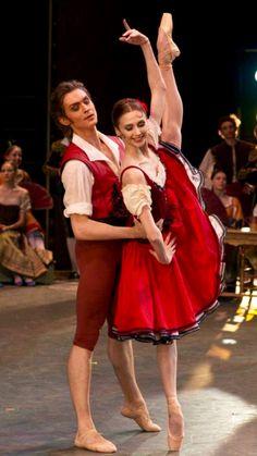 Svetlana Zakharova and Dennis Rodkin-Don Quixote-Bolshoi Ballet-Photo Sergey Dyachkov