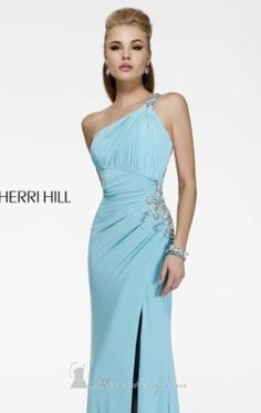 Asymmetrical Evening Gown by Sherri Hill 11040