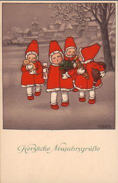 Pauli Ebner Postcard