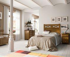 Dormitorio Juvenil Rústico Colonial 58