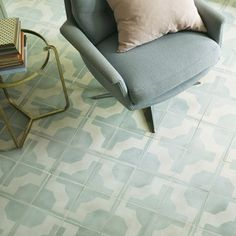 Parquet Pistachio - Florentine by Neisha Crosland - Wall & Floor Tiles | Fired Earth