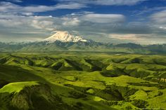 Elbrus Mountain, Caucasus