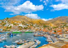 """In a National Geographic Traveler panel of 522 experts rated Hydra the highest of any Greek island out of 111 islands worldwide) as a unique destination preserving its """"integrity of the place. In Ancient Times, Greek Islands, National Geographic, Greece, Have Fun, River, Explore, Separates, Places"""