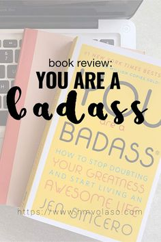 If you're looking for self-book and not sure where to start, You Are A Badass is probably the best choice! Books To Read For Women, Books You Should Read, Book Suggestions, Book Recommendations, Inspirational Books To Read, Flaws And All, Nonfiction Books, Take Care Of Yourself, Get Over It