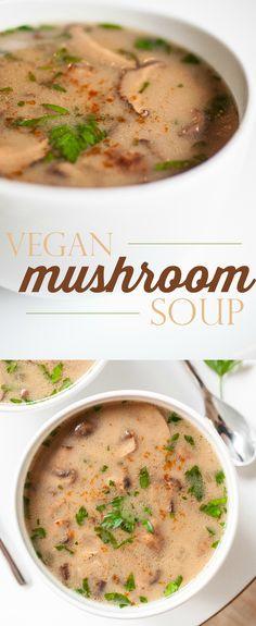 Produce On Parade - Vegan Mushroom Soup