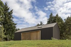 Image 2 of 14 from gallery of Elk Valley Tractor Shed / FIELDWORK Design & Architecture. Photograph by Brian Walker Lee