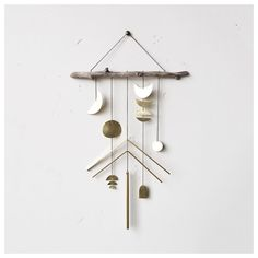 meet naomi, 1 of our electric sun creatives wall hangings available in the shop | See this Instagram photo by @fuggiamo #shopfuggiamo #brass #wallhanging #wallart #art #homedecor #decor