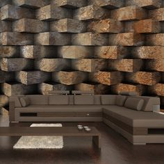 85 photowallpaper ideas and inspirations - Murales Pared Exterior Brick Effect Wallpaper, 3d Wallpaper For Walls, Modern Wallpaper, Living Room Paint Design, Tv Wall Design, Bungalow Haus Design, House Design, 3d Fantasy, Home Decor Shops