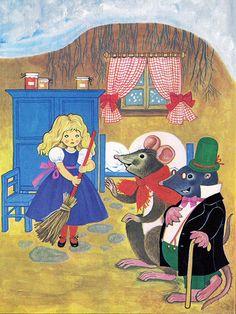 'Thumbelina' Pestaalozzi Publishing, 1981, Germany Illustration by Felicitas Kuhn