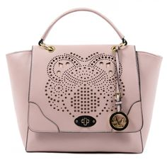 Save on the Versace Beatrice Pink Leather Satchel! This satchel is a top 10 member favorite on Tradesy. Fashion Handbags, Purses And Handbags, Trendy Handbags, Yellow Handbag, Branded Bags, Womens Purses, Pink Leather, Leather Satchel, Handbag Accessories