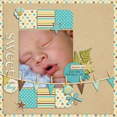 not ctmh paper...but you could use our lil clothespins on a layout like this.