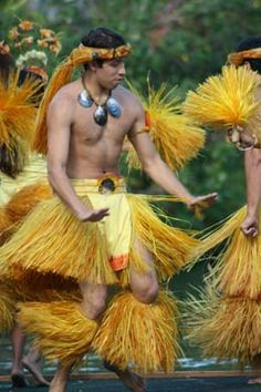man hula dancing - click to see all state cultural symbols