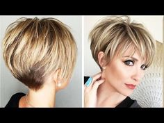 Top 10 Hottest Pixie and Short Haircut Ideas For Short Hair Short Sassy Haircuts, Pixie Haircut For Thick Hair, Short Thin Hair, Short Hairstyles For Thick Hair, Short Grey Hair, Haircuts For Fine Hair, Short Hair With Layers, Short Hair Cuts For Women, Color For Short Hair