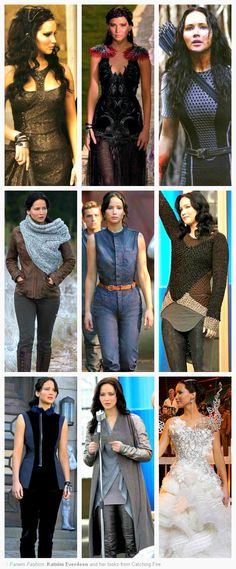 Panem Fashion - Katniss Everdeen                                                                                                                                                                                 More