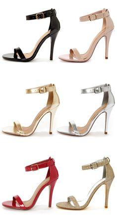 Sexy Single Strap High Heels