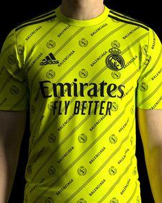 Real Madrid, Balenciaga, Adidas, Logo, Mens Tops, T Shirt, T Shirts, Sports, Supreme T Shirt