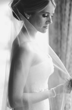 Gorgeous Bridal Portrait on the Black Tie Bride today!  Vera Wang Gown // Erica Rose Photography View More: http://ericarose.pass.us/black-tie-bride