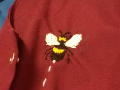 Bee Embroidery, Brooch, Jewelry, Fashion, Moda, Jewlery, Jewerly, Fashion Styles, Brooches
