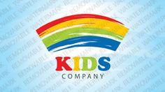 Kids Company Logo Templates by Logann