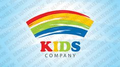 Kids Company Logo Templates by Logann