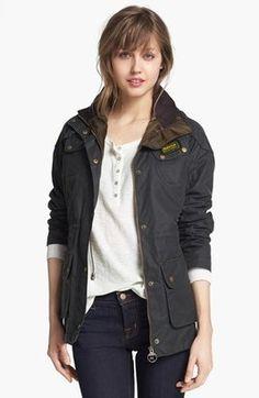 Shop Now - >  https://api.shopstyle.com/action/apiVisitRetailer?id=437343621&pid=2254&pid=uid6996-25233114-59 Women's Barbour Hawkstone Parka  ...