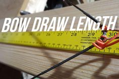 Blog: Understanding Your Bow's Draw Length Measurement - Sole Adventure