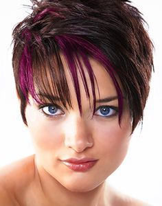 dramatic hair colour short hair - Google Search