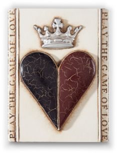 Heart & Crown - My second Sid Dickens tile.  I am on my way to an actual collection.  It's so hard to choose from so many beautiful designs.