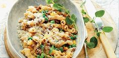 recipe, pasta, beef