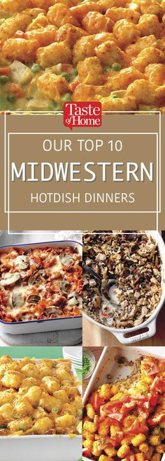 10 Midwestern Hotdish Dinners You Need to Try