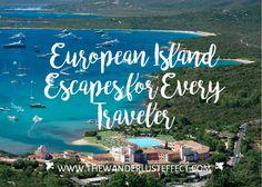 SARDINIA + European Island Escapes for Every Traveler #europe #travel