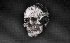 skull wallpaper desktop background imagem caveira4