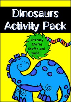 107 Pages of Dino, Dino, Dino Fun!Included in this HUGE pack:One maths and literacy workbook (suitable for EYFS and KS1) Contains differentiated worksheets-Allosaurus mini reading comprehension with questions-Herbivores and Carnivores task-Dino Subtraction -Dino Addition-Counting activities-Tyrannosaurus Rex colouring page-Complete the dino patterns-Design a dino egg-Write a story about Lily the Dinosaur (with suggested HFW/Sight Words)-Write a story about Lily the Dinosaur (without…