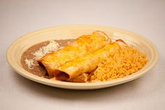 Los Bravos Authentic Mexican Restaurant, Evansville IN - chimichangas - what I almost always order