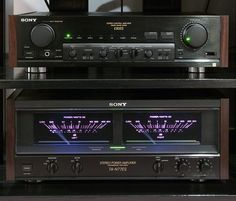 Speaker Amplifier, Hifi Speakers, Hifi Stereo, Hifi Audio, Hi Fi System, Audio System, Sony Electronics, Retro, Av Receiver