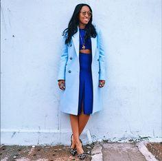 Shiona Turini Daily Fashion, Fashion News, Angela Simmons, Teen Vogue, African American Women, Fashion Books, Fashion Killa, Black Is Beautiful, Timeless Fashion