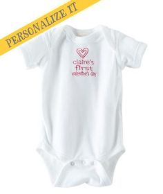 Available exclusively online from Hallmark Baby, beautiful Baby clothes including these Baby Unisex Sweetheart Bodysuit made of 100% combed ringspun cotton