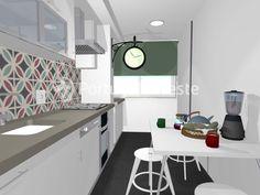 Cozinha, Vende apartamento T2, com suite, totalmente remodelado, em Alcabideche - Portugal Investe