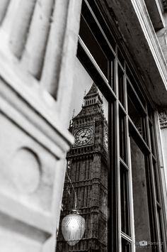 Clock Reflection by Alexis Ramirez Flores on Big Ben, Reflection, Clock, Travel, Viajes, Watch, Trips, Tourism