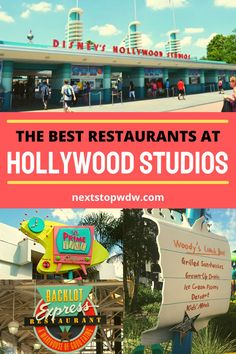 With Star Wars Galaxy's Edge and Toy Story land now very much established at Hollywood Studios it is highly likely that at some point you will be eating inside the park during your time at Disney World. To help you plan for your Disney World vacation we are going to share what we think are the best Hollywood Studios Restaurants along with some snacks to try too. Disney World Packing, Disney World Secrets, Disney World Vacation Planning, Walt Disney World Vacations, Disney World Tips And Tricks, Disney World Resorts, Hollywood Studios Restaurants, Disney World Restaurants, Disney World Characters