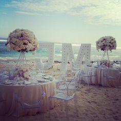 Luxury beach wedding in Bali Floral design by AISLE PROJECT & VESNA GRASSO Wedding planning WEDDINGS BY DIANE KHOURY Venue KARMA KANDARA BALI