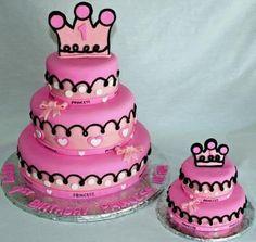 Cute! 1st birthday cake