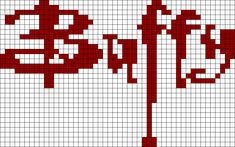 Buffy Perler Bead Pattern | Bead Sprites | Misc Fuse Bead Patterns