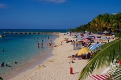 Doctor´s Cave Beach in Montego Bay, Jamaica