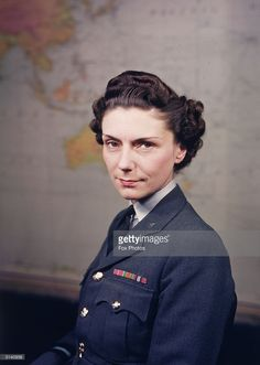 Felicity Hanbury, OBE, director of the WAAF (Women's Auxiliary Air Force) during World War II.