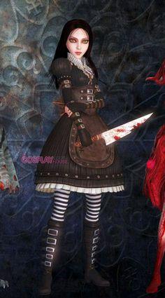 Alice's black dress - Alice: The Madness Returns