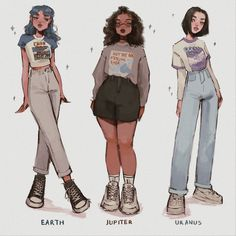 stuff to draw Aesthetic Drawing, Aesthetic Art, Aesthetic Clothes, Cartoon Art Styles, Cute Art Styles, Art Drawings Sketches, Cute Drawings, Cartoon Drawings Of Girls, Fashion Design Drawings