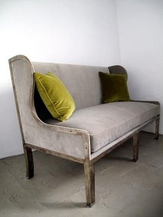 lovely clean line Settee