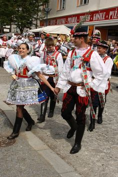 Milotický kroj - embroidery on tulle Folk Costume, Costumes, Beautiful Patterns, Traditional Dresses, Czech Republic, Dancers, Bohemian Style, Ukraine, Embroidery